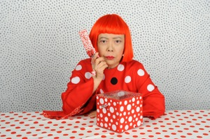 Yayoi Kusama, via http://www.yayoi-kusama.jp/.