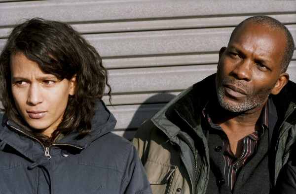 Mati Diop as Josephine with Alex Descas as Lionel in Claire Deniss 35 SHOTS OF RUM. Courtesy of Cinema Guild.