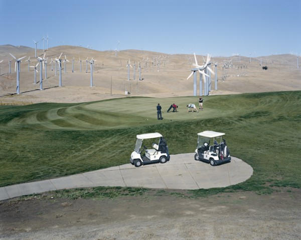 ALTAMONT PASS WIND FARM, CALIFORNIA II, from the series AMERICAN POWER, 2007. C-print 70x92 inches. Courtesy of Sikkema Jenkins & Co., New York.