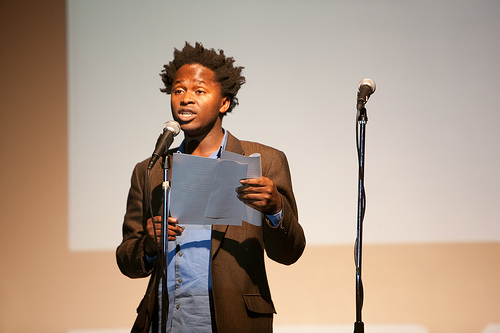 Ishmael Beah. Photo: Beowulf Sheehan/PEN American Center.