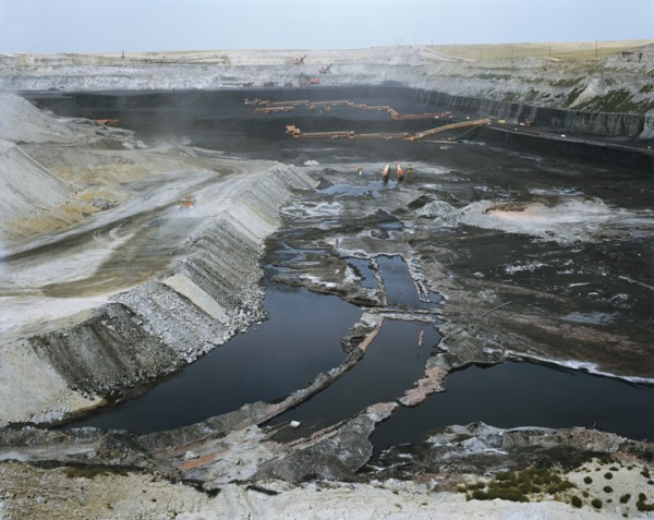 WYODAK COAL MINE, WYOMING, from the series AMERICAN POWER, 2008, C-print, 70x92 inches. Courtesy of Sikkema Jenkins & Co., New York.