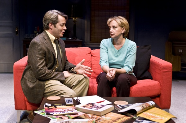 J. Smith-Cameron, Matthew Broderick. Photo by Monique Carboni.  