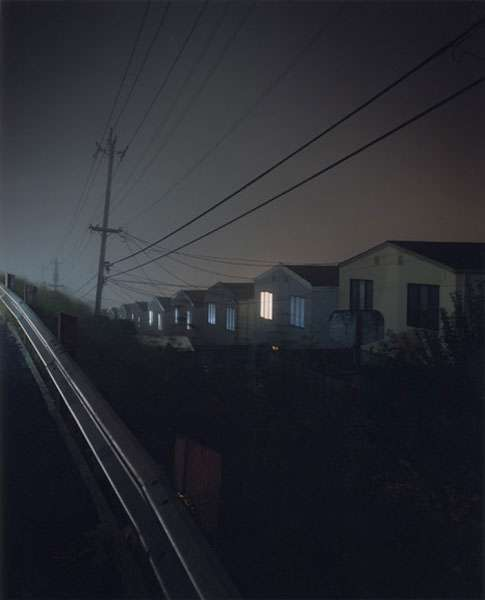 Todd Hido; 2523 FROM THE SERIES HOUSE HUNTING 1996-2001; C-print; 24 x 20 inches. Courtesy of the artist and Pierogi Flat Files.
