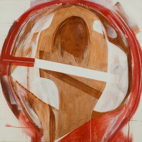 Jason Fox, DISILLUSIONISM, 2007, acrylic on canvas, 32 x 32 inches. Courtesy of the artist.