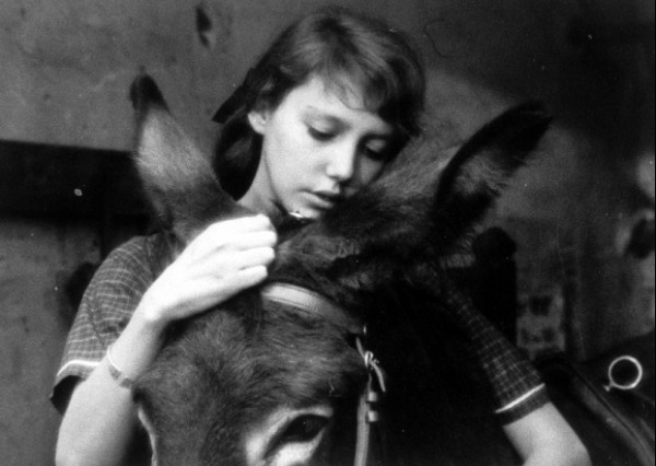 Anne Wiazemsky in AU HASARD BALTHAZAR (1966).