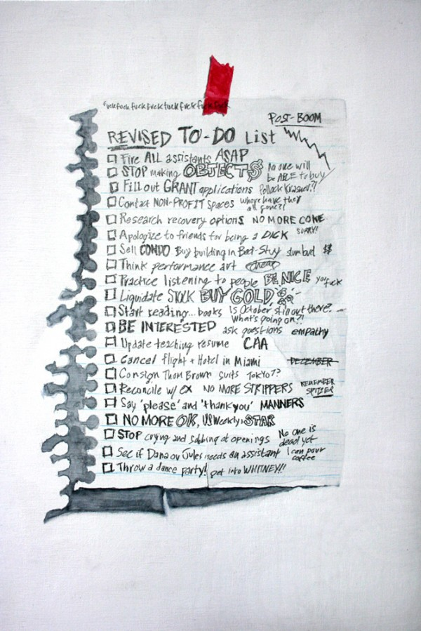 Revised To Do List