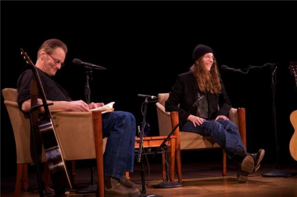 Sam Shepard and Patti Smith at the 92nd St. Y.  2010 Nancy Crampton. All rights reserved.