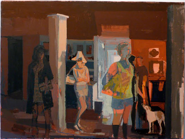 "Susan Licthman, Open House, oil on canvas, 24 x 18"", 2008."